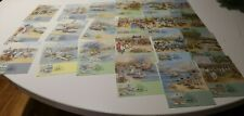 1987-88 THE FIRST FLEET COMPLETE STAMP  MAXI CARDS SET OF 21