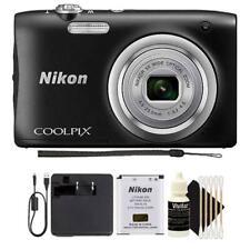 Nikon Coolpix A100 20.1MP Compact Digital Camera (Black)