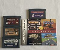 Gameboy Advance Rebelstar, Dungeons & Dragons, Terminator 3 & Namco Museum Lot!!