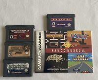Gameboy Advance Rebelstar, Dungeons & Dragons, Terminator 3 & Namco Museum Lot!!