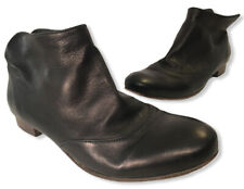 Coclico Black Leather Ankle Booties Shooties Isla Women's Size EU 37.5 US 7 EUC