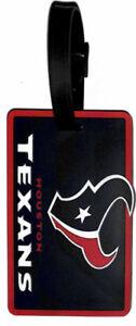 Houston Texans Bag Tag Luggage Tag