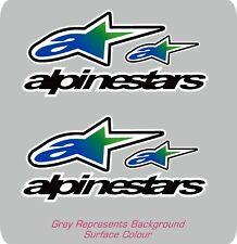 Alpinestars Azul Moto Casco Pegatina Calcomanía Repsol Kawasaki Yamaha Honda
