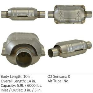 Catalytic Converter Fits: 1992 Fits Chevrolet Astro, 1988-1995 Fits Chevrolet C1