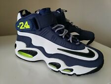 NIKE AIR MAX GRIFFEY 24 Blue White Neon Shoes Green 354912-102 2012 Size 9