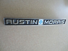 Original Austin Morris J4 van car badge