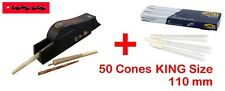 RAW Cone Filler King Size + 50 Cones, Drehmaschine für alle King Size Cones