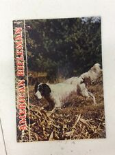 The American Rifleman Magazine September 1966 English Setter Best Liked Gun Dogs