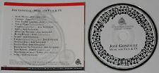 Jose Gozalez - Music For Film & TV -  U.S. promo cd  -Rare!