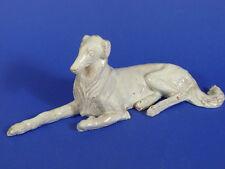 Willhelm Neuhäuser Dachau Dachauer Künstler Windhund glasiert Nymphenburg Hund