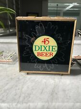 Dixie Beer Bar Light- Antique