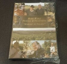 Burt Wolf: Travels And Traditions - Harvest At Tolani (DVD) wine vineyard NEW