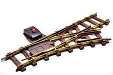 Faller E-Train/Spur 0   -  Handweiche rechts -  schwarz /  Nr. 3831
