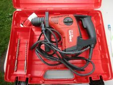 Hilti Te7 C Rotary Hammer Drill 120v 60hz 63amp With 3 Bits In Case Used