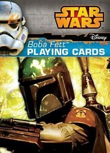 New Star Wars Deck Boba Fett Bounty Hunter Playing Card by Cartamundi