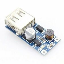 2 Stk 0.9V-5V to 5V DC-DC Booster Module USB Mobile Step-up Power Supply Module~