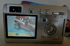 Pentax Pentax Optio S4i 4.0Mp Digital Camera - Silver w/Charger & Power Cable