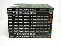 The Walking Dead Image Graphic Novel HC Lot Vol 1-10 Kirkman - plus 2 Posters