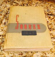 1946 Vintage Antique Oklahoma University Sooner Yearbook Collectors Memorial OU