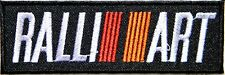MISUBISHI RALLI ART Logo Car Pickup Patch Iron on Jacket T shirt Badge Emblem