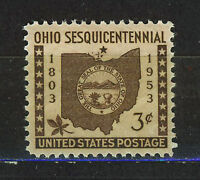 Staaten Vereinigte/USA 1953 MNH SC.1018 Ohio