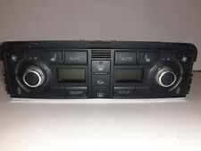 Audi A8 4.0 TDi D3 2002 -2009 Climate Control Panel Heated Seat Switches