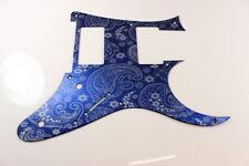 Blue Paisley Anodized Aluminum pickguard fits Ibanez (tm) RG550 Jem RG  HXH