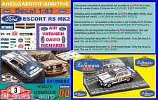 ANEXO DECAL 1/43 FORD ESCORT RS 1800 MK II ROTHMANS A.VATANEN R.MONTECARLO  (01)