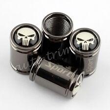 Car Parts Titanium Style Wheel Tyre Valve Dust Caps Covers Skull Head Punisher
