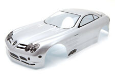 RCG Racing Mercedes Benz SLS Gullwing Body Shell 190mm Silver S021W