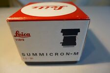 Leica Leitz Summicron-M 50mm 11819 BOX