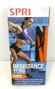 Spri Resistance Tube Light Up To 20lbs of Resistance New In Box