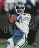 Randall Cunningham Signed Eagles Football 8x10 Photo BAS Beckett COA Autograph 1