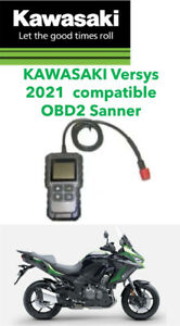 KAWASAKI Versys 1000 2021 6 PIN DIAGNOSTIC TOOL, OBD  FI SCANNER