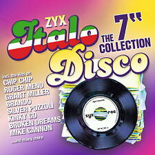 CD ZYX italo discoteca the 7 inch Collection di Various Artists 2cds con Chip Chip