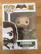 Signed Funko Pop Aquaman Signed by Jason Momoa