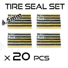 20 Pcs Emergency Flat Tire Repair Fix Kit Seals Plugs Inserts Tubeless Chamber
