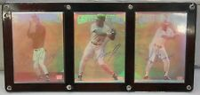 Lime Rock Hologram Baseball Card Set of 3 Craig Griffey and Ken Griffey Jr.