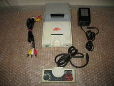 PC ENGINE WHITE CONSOLE + AV BOOSTER OUTPUT ACCESSORY UNIT!