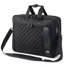 BMW M Laptop Bag Case Travel Bag Nappa Leather & Nylon OEM