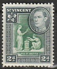 1938 ST. VINCENT 2d DEFINITIVE. SG 152 M/MINT