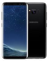 Samsung Galaxy S8 Plus 64GB Unlocked Smartphone Midnight Black Excellent