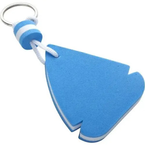 Blue Floating Keyring - Boat Shaped - Foam Material - Gift Ideas - FREE POSTAGE