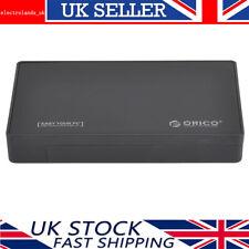 "ORICO 3.5"" inch USB 3.0 SATA III HDD Hard Drive Disk Enclosure Caddy Case 6Gbps"