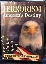 Terrorism: America's Destiny Prophecy Revealed DVD-USA-FEMA