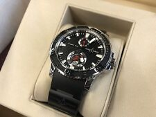 ULYSSE NARDIN MAXI MARINE DIVER 42.7 MM CERAMIC WATCH 100% AUTHENTIC UNUSED