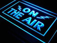 On The Air Radio Recording Studio Led Neon Light Sign