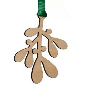 Mistletoe hanging decoration Christmas tree bauble novelty gift secret santa