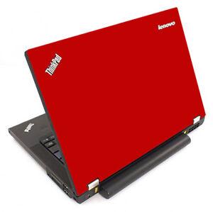 RED Vinyl Lid Skin Cover Decal fits IBM Lenovo ThinkPad T440P Laptop