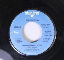 Pop 45 Anne Murray - Daydream Believer / Broken Hearted Me On Star Line